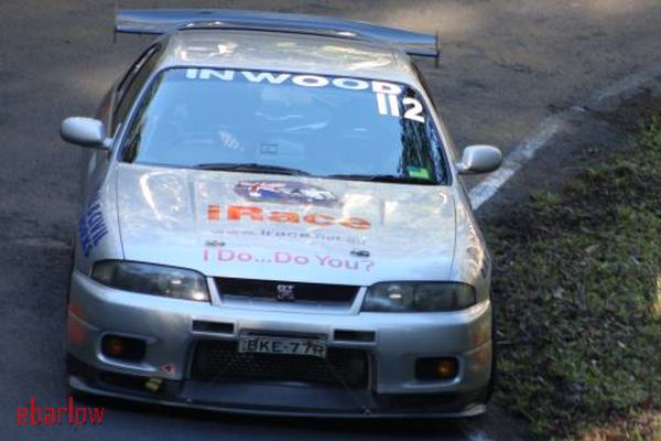 Stuart Inwood 2nd Outright in the Skyline GTR - Image courtesy Eileen Barlow
