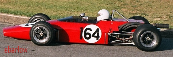 Paul Hamilton set the Group O record in the Elfin - Image courtesy Eileen Barlow